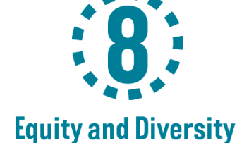 PS 8 Equity and Diversity Logo