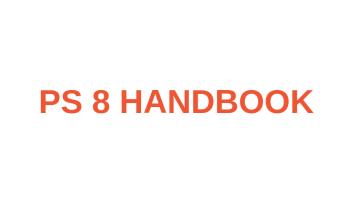 PS 8 Handbook image